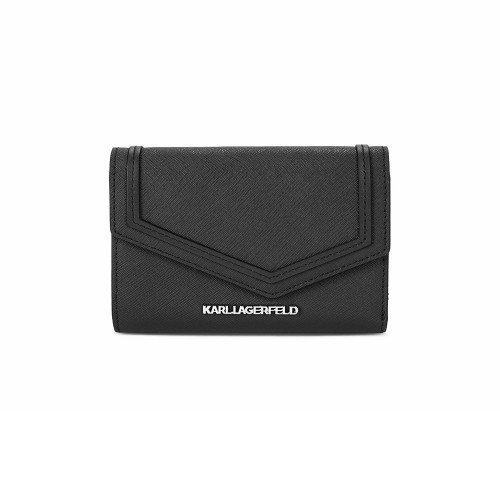 Monedero de Piel Karl Lagerfeld 86KW3252 Color Negro