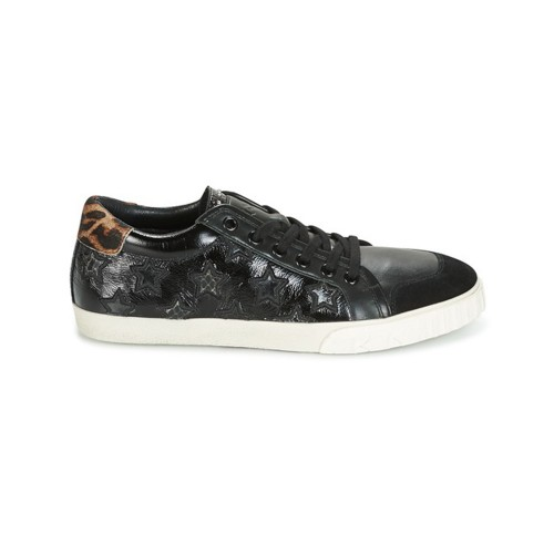 Sneakers de Piel Ash Majestic Color Negro