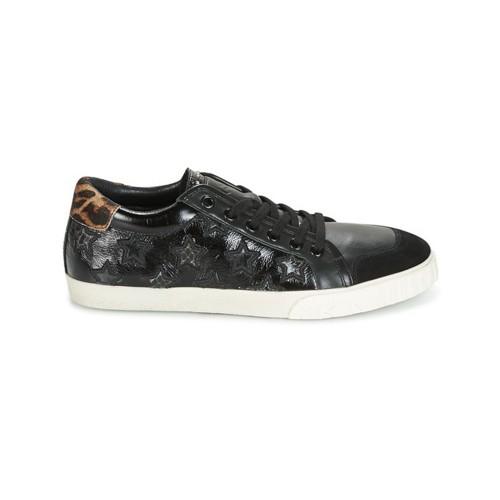 Sneakers in Pelle  Ash Majestic Colore Nero