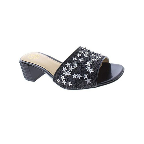 Sandalias de Piel Ash Ruby Star Color Negro
