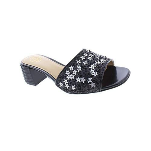 Sandalias de Piel Ash Ruby Star Color Negro