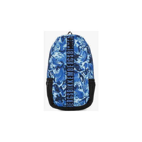 Mochila Bikkembergs 7ADD6801A6701 Color Azul Mimético