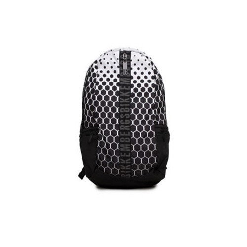 Mochila Bikkembergs 7ADD6801A6601 Color Blanco y Negro
