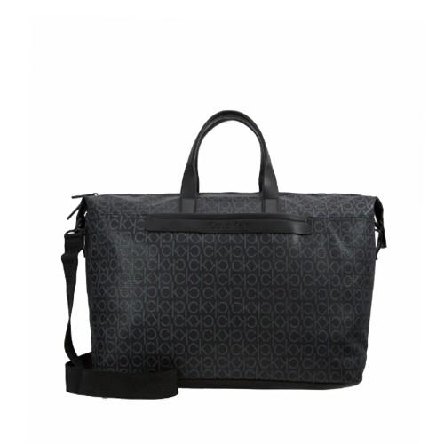 Bolso de Viaje Calvin Klein K50K505366 Color Negro con Logo