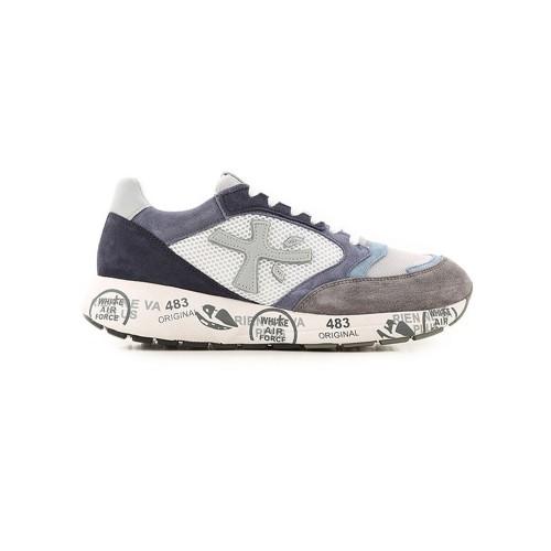 Sneakers Premiata ZACZAC 4613 colore bianco e blu