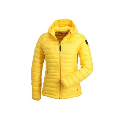 Plumón Napapijri N0YI5E Aerons Wom Hood Color Amarillo