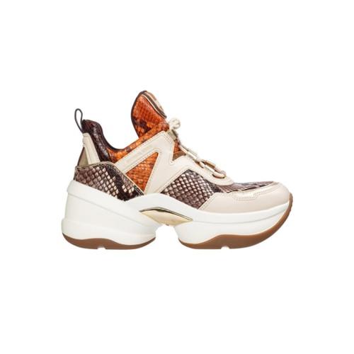 Sneakers de Piel Michael Kors OLIMPYA Color Estampado de...