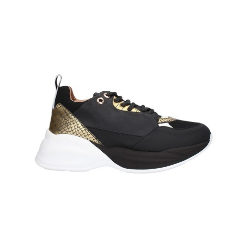 Sneakers Alexander Smith SP73296 Color Black and Gold
