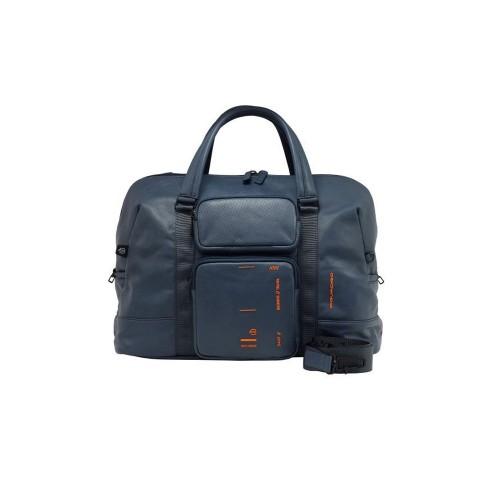 Bolso de Viaje de piel Piquadro BV4928S106/BLU Color Azul...