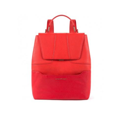 Mochila de Piel Piquadro CA4951S108/R Color Rojo