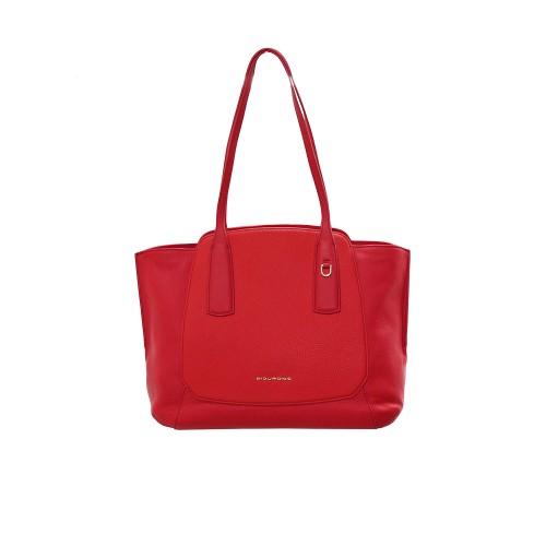 Bolso de Piel Piquadro BD4958S109/R Color Rojo