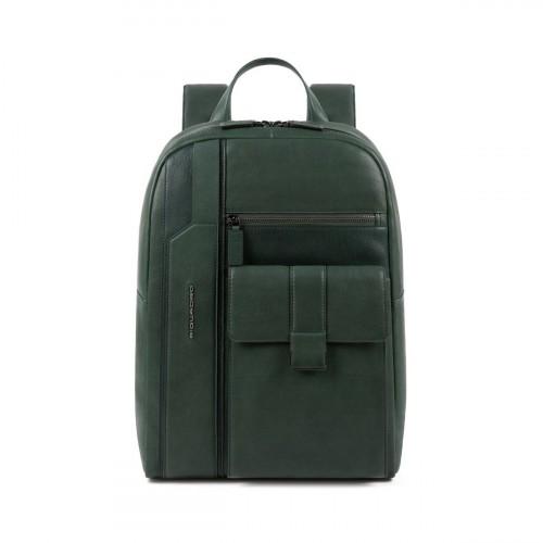 Mochila de Piel Piquadro CA4943S105/VE en Color Verde