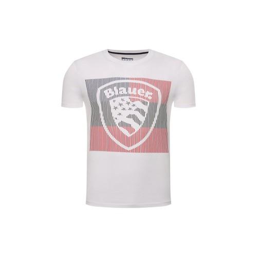 T-Shirt  manica corta uomo Blauer 20SBLUH02179 colore bianco