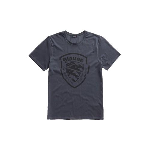 T-Shirt de Manga Corta Blauer 20SBLUH02260 Color Antracita