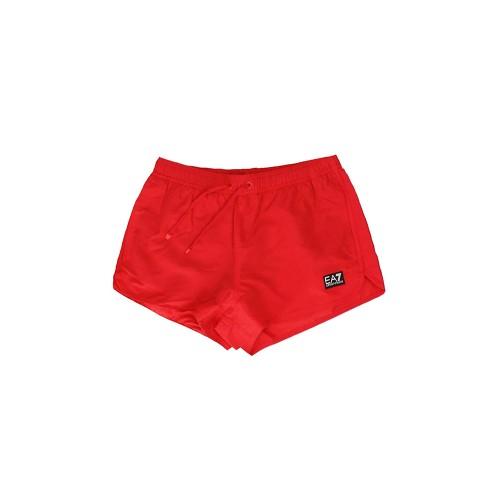 Bañador Short EA7 Emporio Armani 902024 9P730 Color Rojo