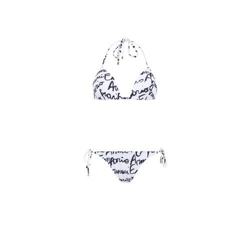 Bikini EA7 Emporio Armani 262564 Color Blanco Estampado...