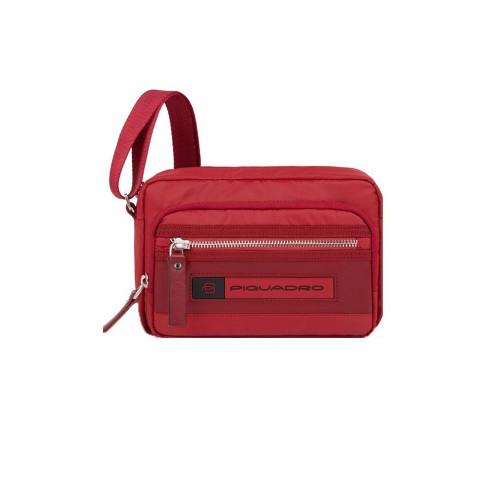Borsa a Tracolla Piquadro CA4863BIO R Colore Rosso
