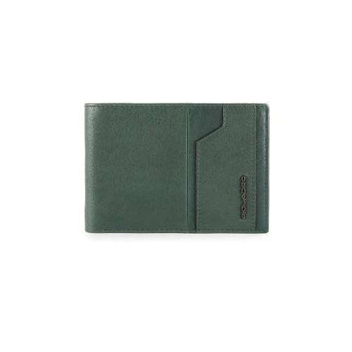 Cartera de Piel Piquadro PU257S105R VE Color Verde