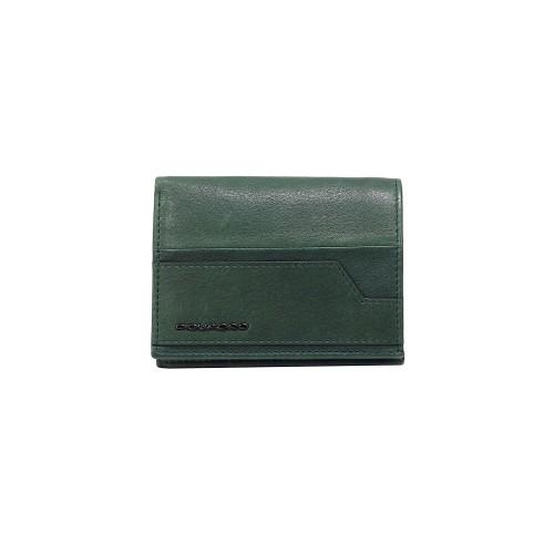 Portafoglio in Pelle  Piquadro PU3244S105R VE Colore Verde