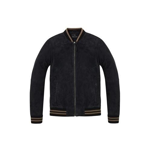 Chaqueta de Ante SCOTCH & SODA SSM142320.01 Color Negro