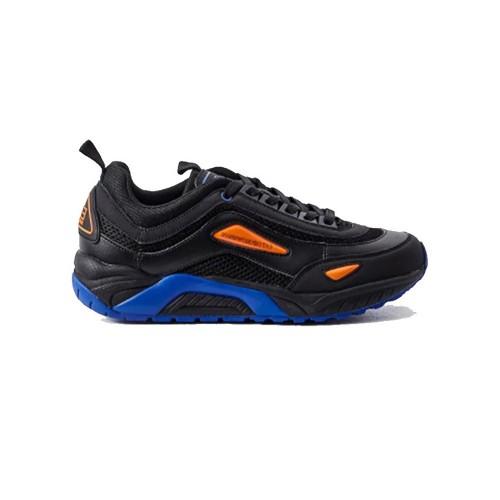 Sneaker EA7 Emporio Armani X8X061 Color Negro y Azul