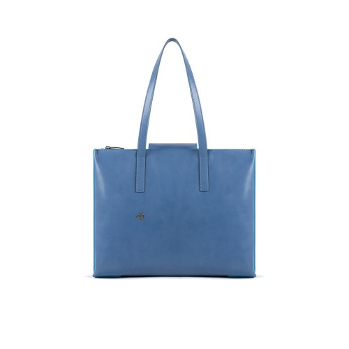 Bolso de Piel Piquadro BD5132B2/AZ6 Color Azul