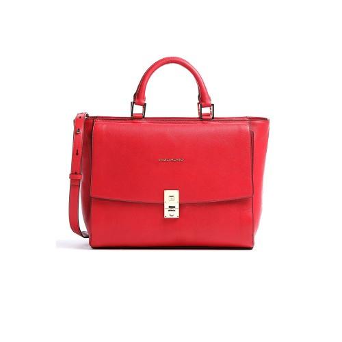 Bolso/Maletín de Piel Piquadro CA5280DF/R Color Rojo