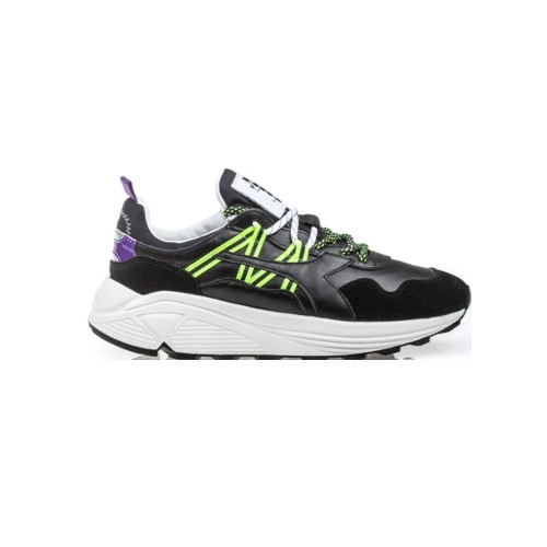Sneakers de Piel Diadora 176333 RAVE LEATHER POP Color Negro