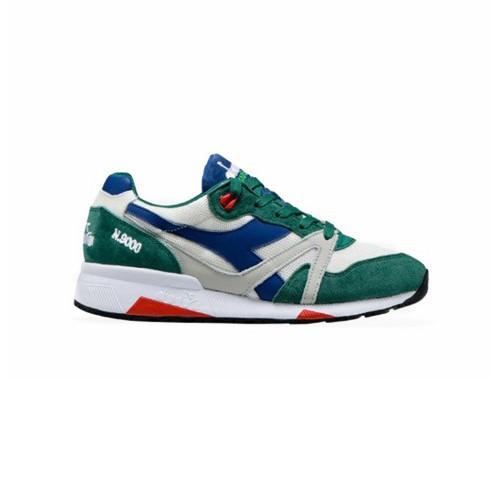 Sneakers Diadora Heritage N9000 H MESH ITALIA Color Verde...