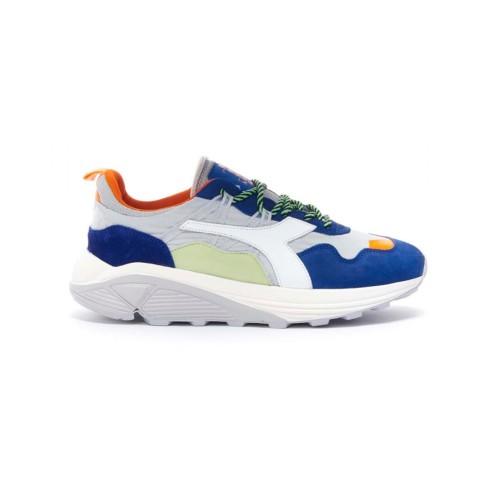 Sneakers Diadora 176639 RAVE NYLON Color Gris y Azul