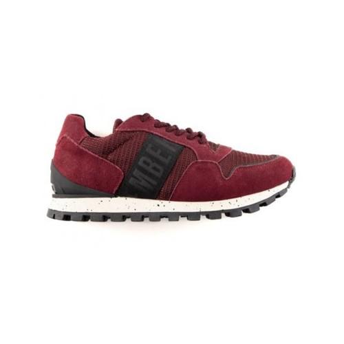 Suede Sneakers Bikkembergs BKE109197 Color Garnet