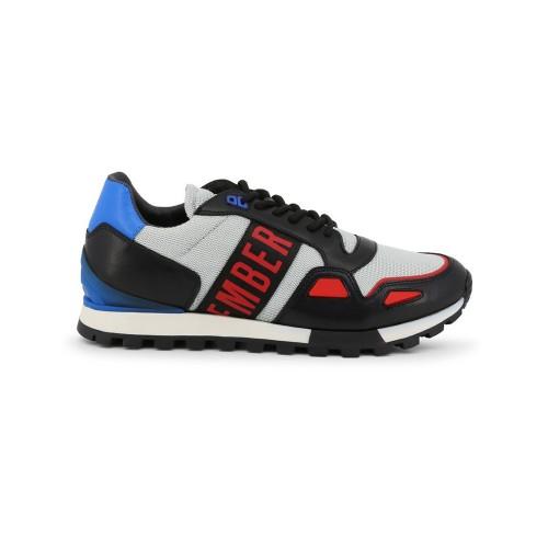 Sneakers Bikkembergs BKE109162 Colore Nero e Argento