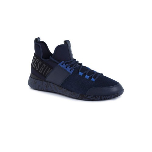 Sneakers de Ante Bikkembergs BKE108839 Color Azul Marino