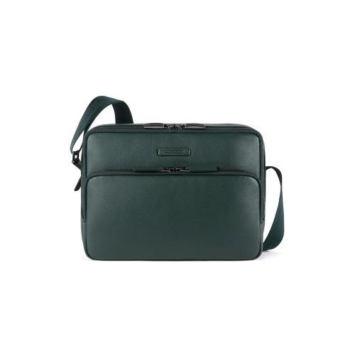 Bandolera de Piel Piquadro CA5086MOS/VE Color Verde