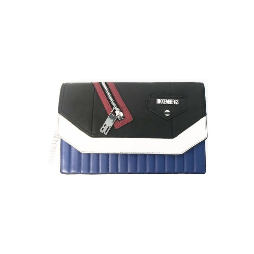 Pochette Bikkembergs 7ADD7201A7901 Color Azul Blanco  y...