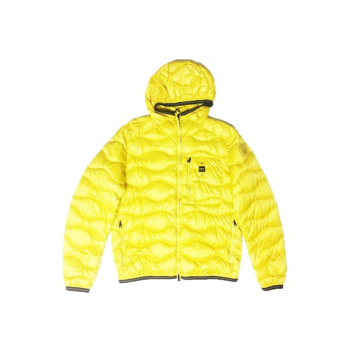 Piumino, Blauer, modello SBLUC03032, colore giallo