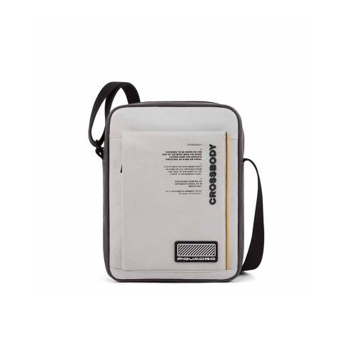 Bandolera de Piel Piquadro CA1816W106/GR Color Gris