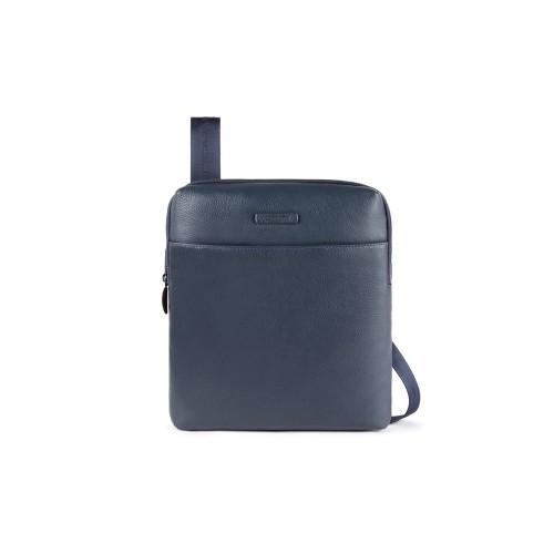 Bandolera de Piel Piquadro CA5085MOS/BLU  Color Azul Marino
