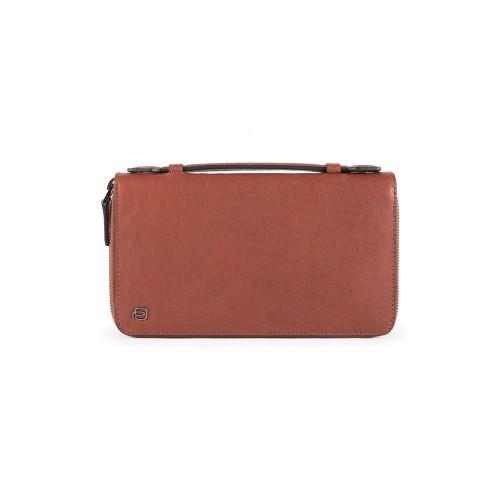 Bolso de Mano Piquadro PP5257B23R/CU Color Cuero