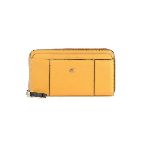 Monedero de Piel Piquadro PD1515W92R/G Color Amarillo