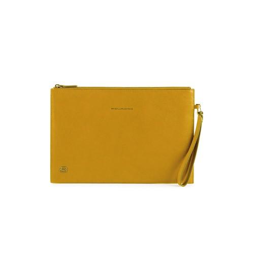 Handbag for Tablet or Ipad Piquadro AC5099B3/G Color Yellow