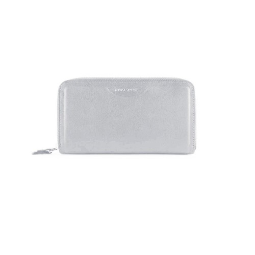 Monedero de Piel Piquadro PD1515W102R/GR Color Gris