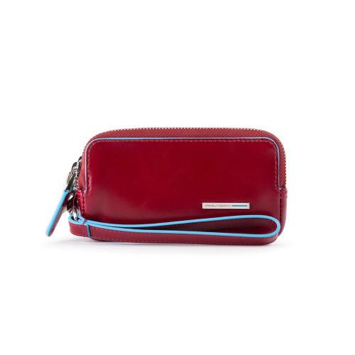 Bolso de Mano de Piel Piquadro AC5201B2/R Color Rojo