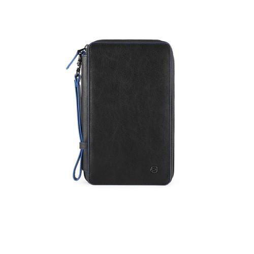 Leather Handbag Piquadro PP3246B2SR/N Color Black