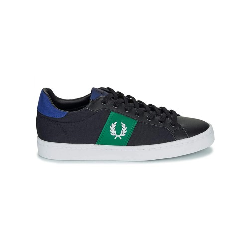 Sneakers Fred Perry B7129 Color Negro