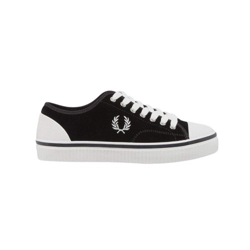 Sneakers de Ante Fred Perry B5166 Color Negro