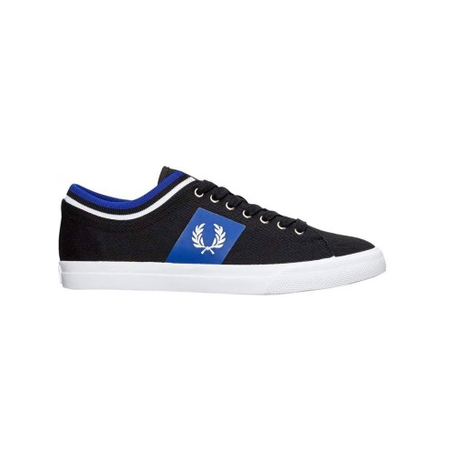 Sneakers Fred Perry B7106 Color Negro