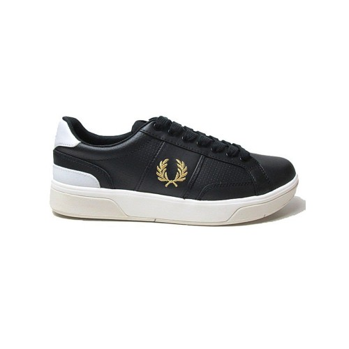 Sneakers de Piel Fred Perry B8298 Color Negro