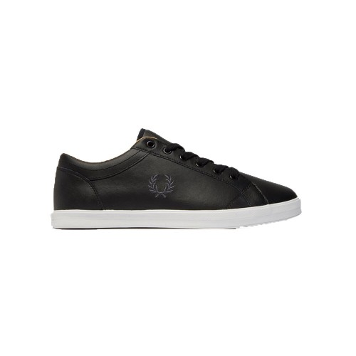 Sneakers de Piel Fred Perry B3058 Color Negro