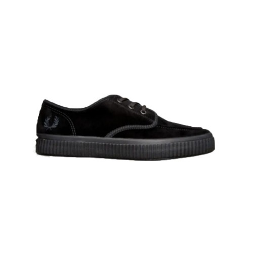 Sneakers de Ante Fred Perry B7175 Color Negro
